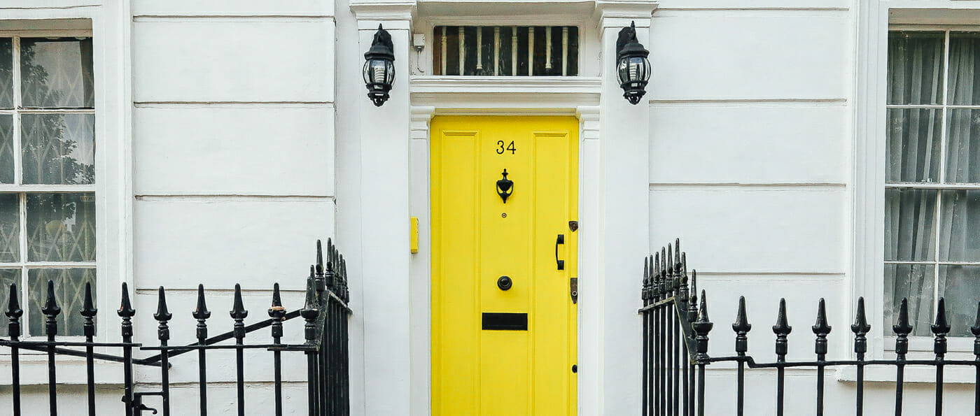 How Adding a Splash of Colour Can Help Increase the Value of Your Property For Sale